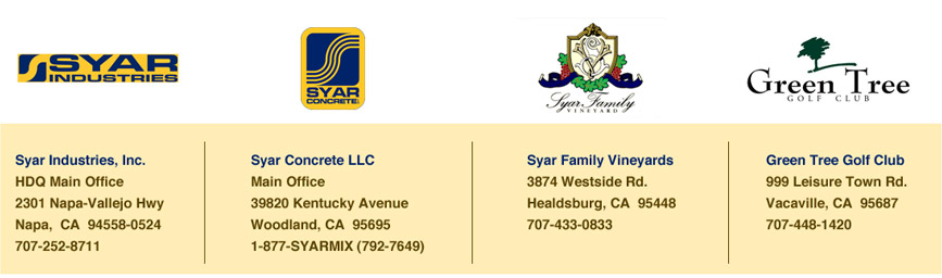 syar industries companies